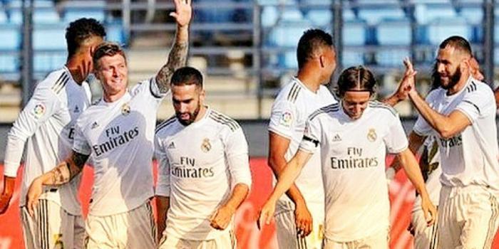 La Liga_Reyal Madrid