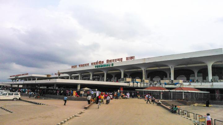 হযরত শাহজালাল আন্তর্জাতিক বিমানবন্দরের ৮ মাসের শিশু